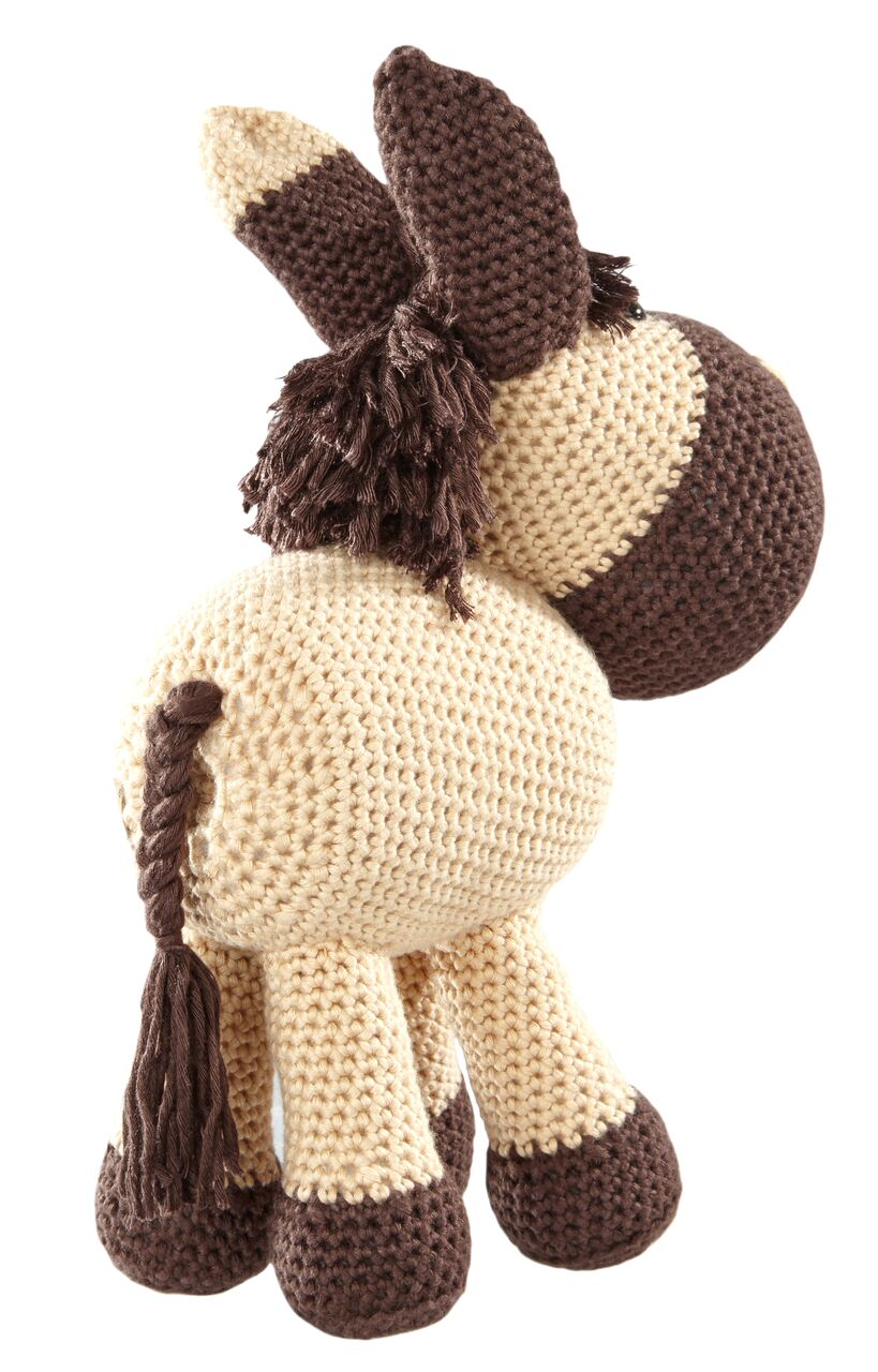 Häkelanleitung Pferd Falbe - Pat´s funny Pets & Wolldesign   1280x819