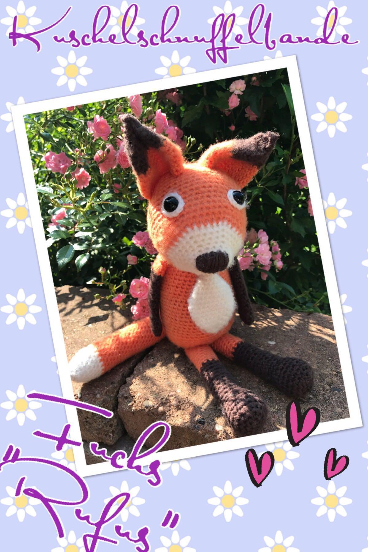 Amigurumi - schlauen Fuchs häkeln