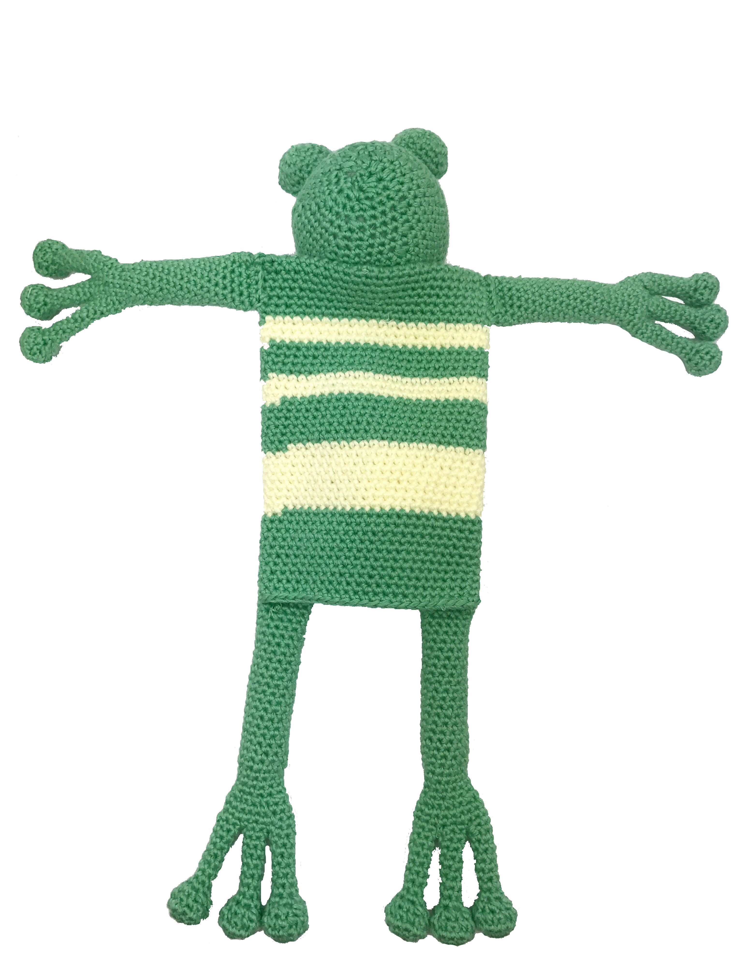 Amigurumi - kleinen Frosch häkeln