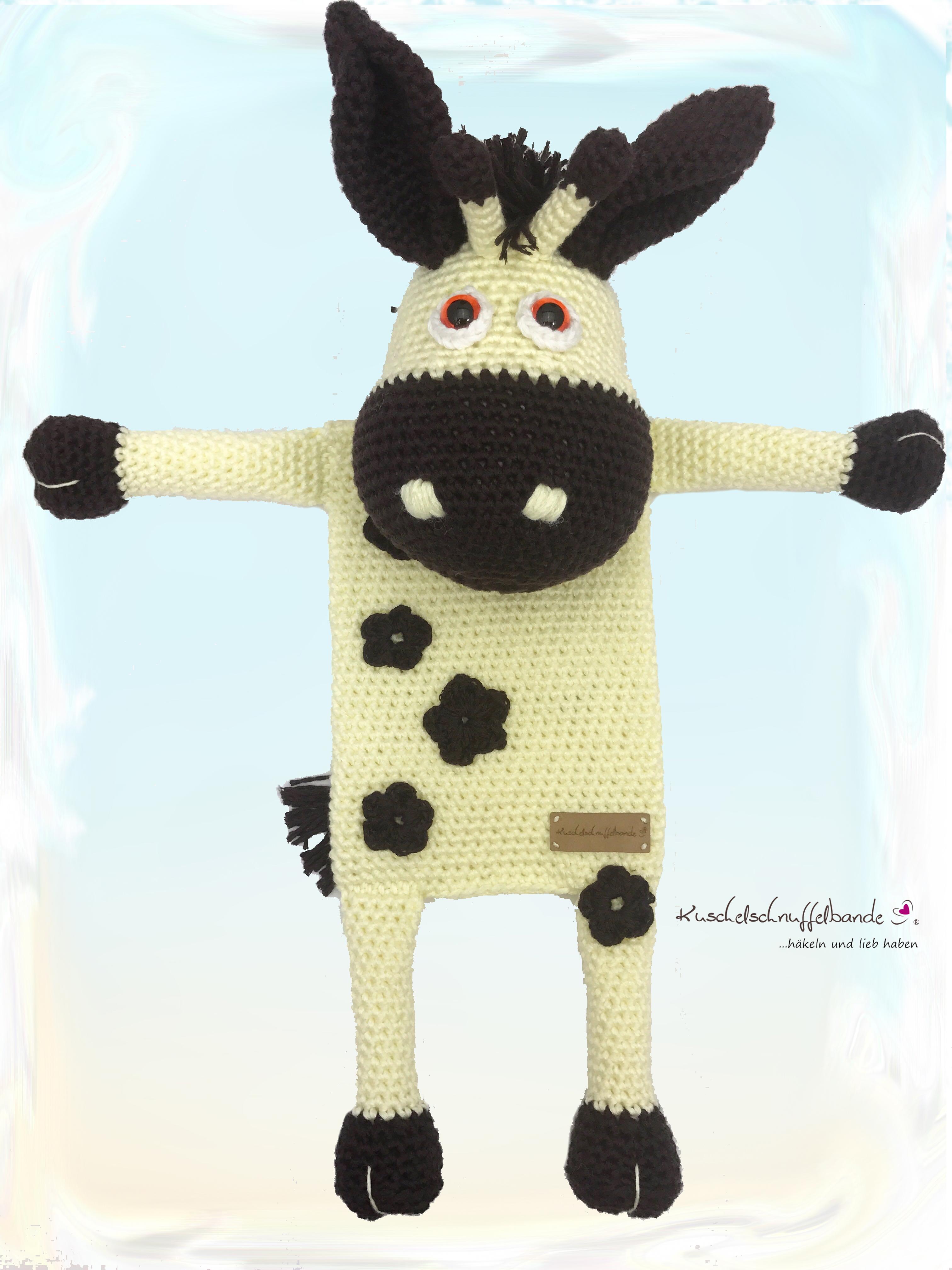 Wärmekissenbezug Kuschelschnuffelbande Giraffe Gisela Amigurumi Pdf